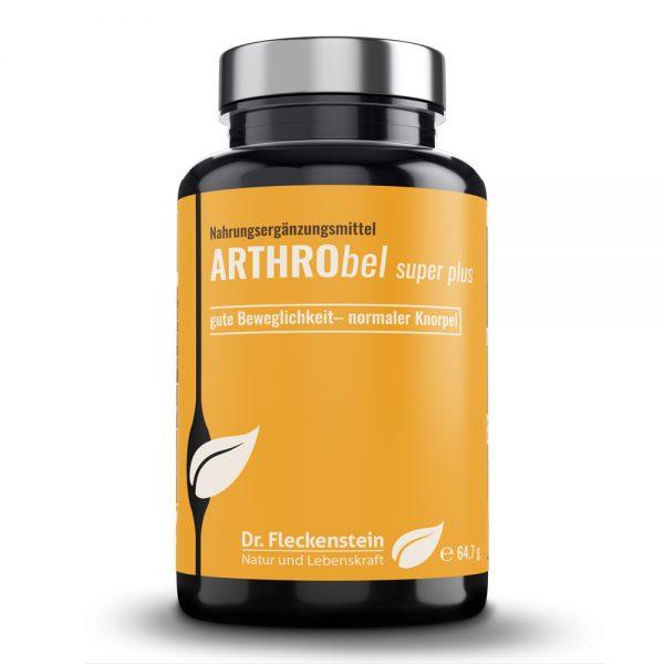 Produktansicht: Arthrobel super plus von Dr. Fleckenstein. Gute Beweglichkeit - normaler Knorpel.