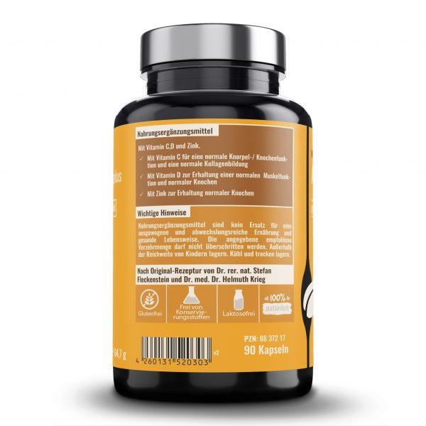 Arthrobel super plus von Dr. Fleckenstein. Gute Beweglichkeit - normaler Knorpel. Produktbeschreibung und Verzehrempfehlung.