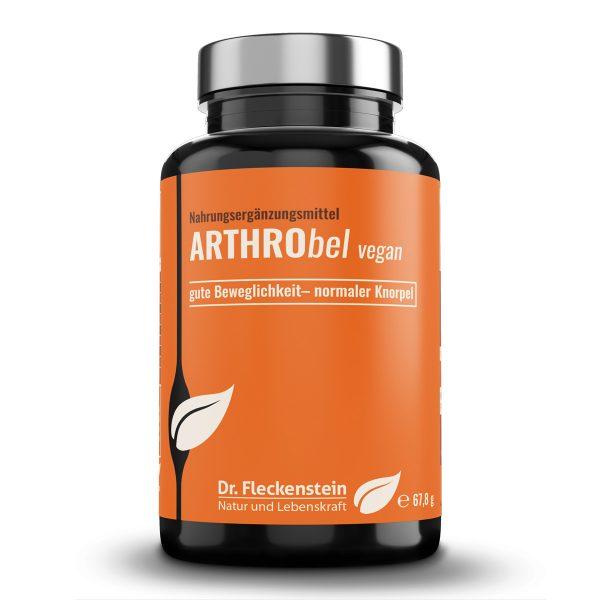 Produktansicht: Arthrobel vegan von Dr. Fleckenstein. Gute Beweglichkeit - normaler Knorpel.