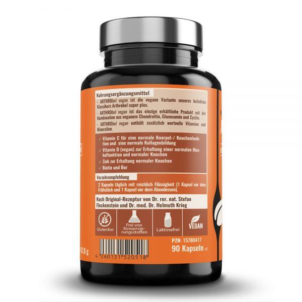 ARTHRObel vegan - Produktbeschreibung und Verzehrempfehlung.