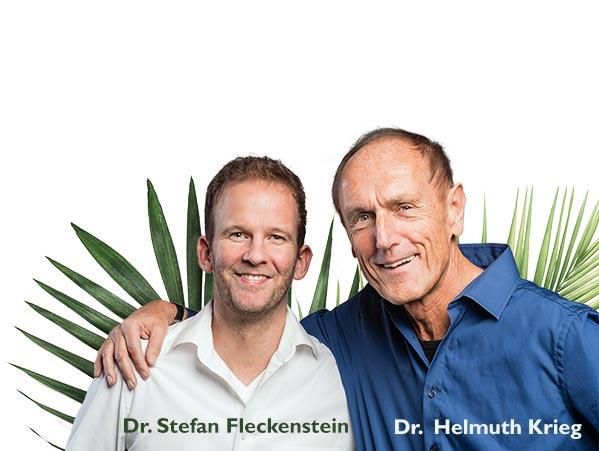 Dr. Fleckenstein mit Dr. Krieg