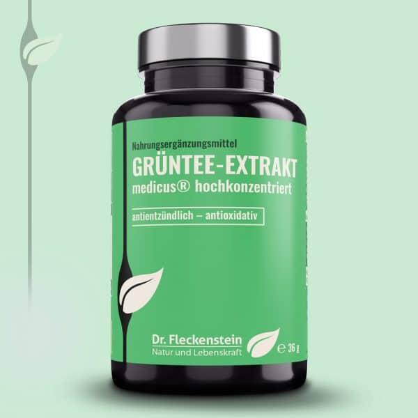 GRUENTEE-EXTRAKT medicus® hochkonzentriert von Dr. Fleckenstein. Antientzuendlich – antioxidativ