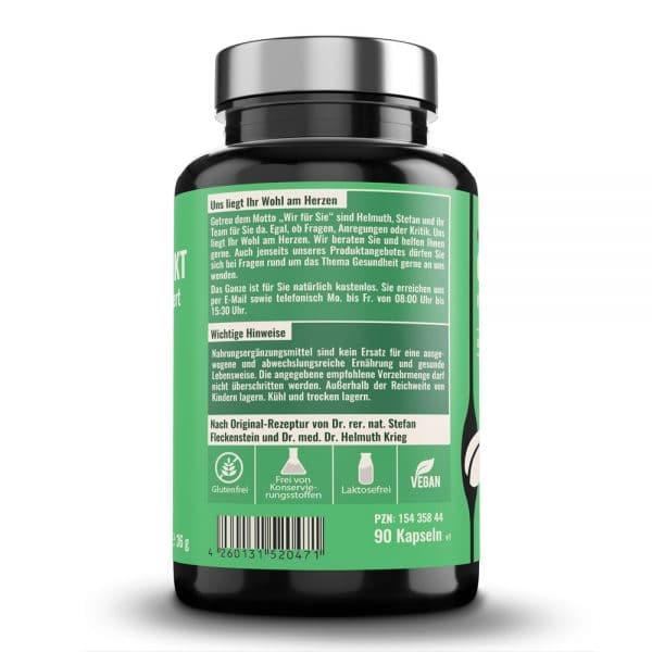 GRUENTEE-EXTRAKT medicus® hochkonzentriert von Dr. Fleckenstein. Antientzuendlich – antioxidativ. Produktbeschreibung und Verzehrempfehlung.