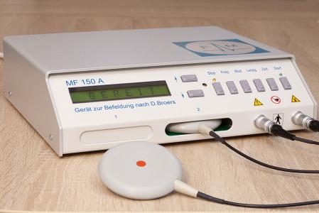 Das Befeldungsgerät MF150A-H ist offiziell als Medizinprodukt zugelassen.