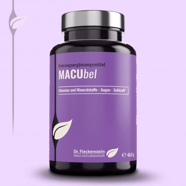 Produkt: MACUbel von Dr. Fleckenstein. Gute Sehkraft-gesundes Sehvermögen.