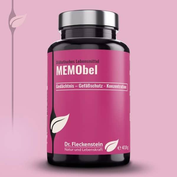 MEMObel von Dr. Fleckenstein. Gedächtnis – Gefäßschutz - Konzentration.