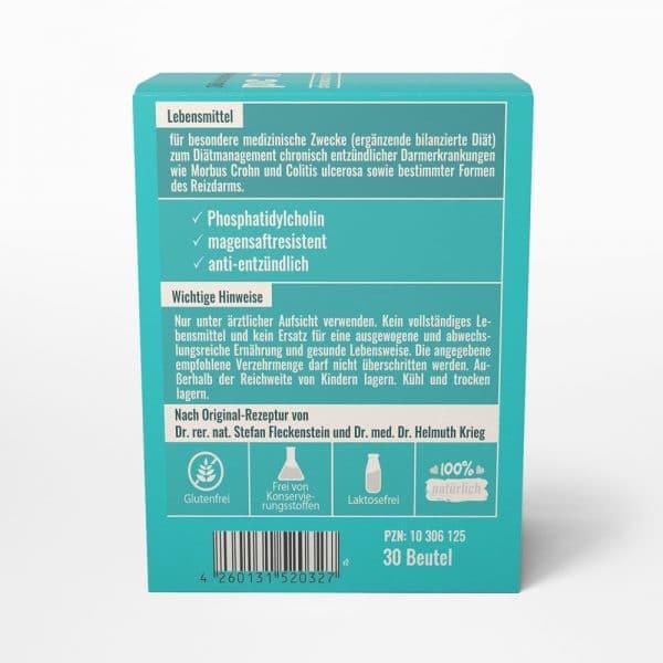 pc medicus von Dr. Fleckenstein. Chronisch entzündliche Darmerkrankungen. Produktbeschreibung und Verzehrempfehlung.